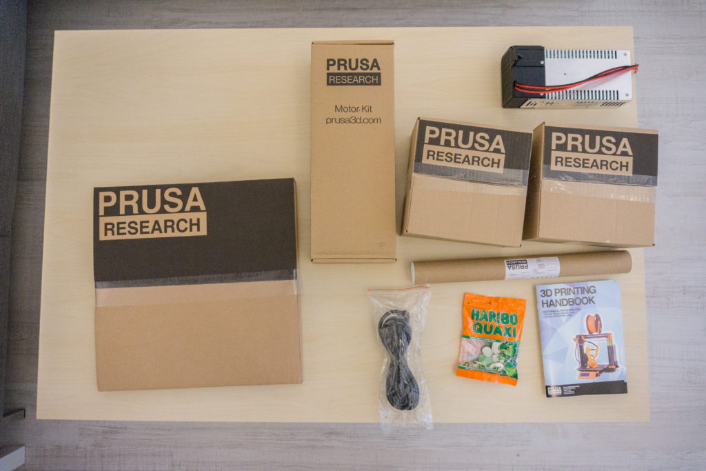 Prusa i3 MK2 packages
