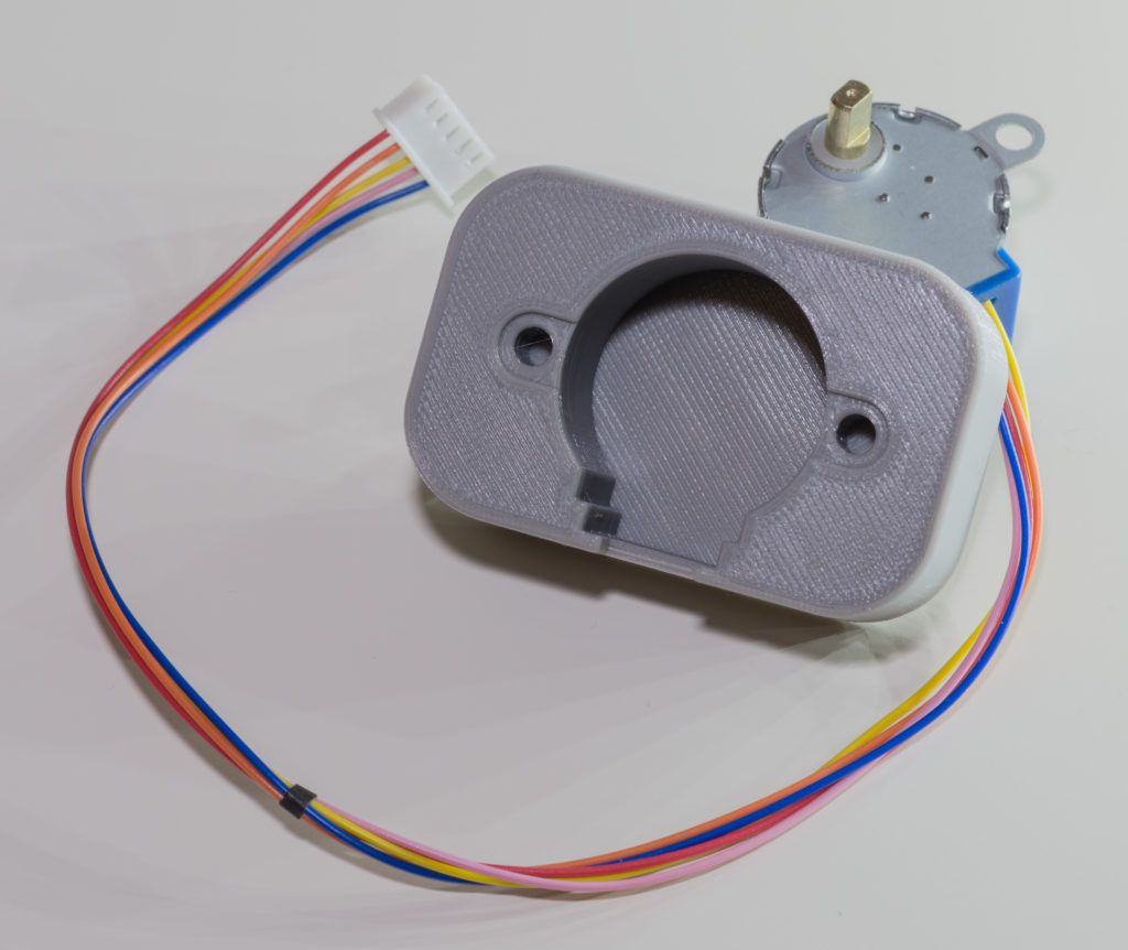 Stepper motor holder